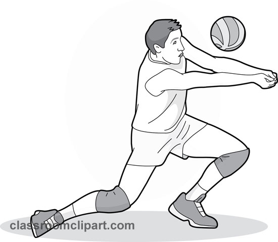 Arm clipart forearm. Volleyball pass gray station