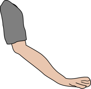 Download. Elbow clipart left arm