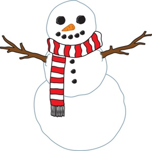 Free snowman image with. Carrot clipart christmas