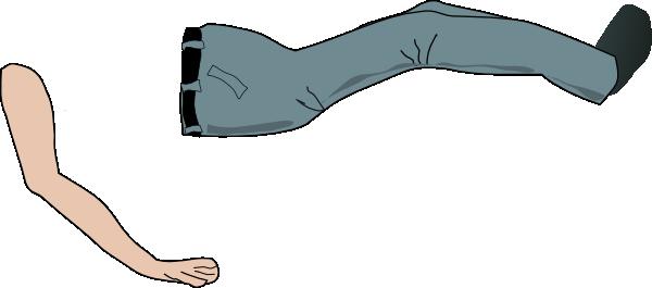 Arm clipart vector. Legz leg pencil and
