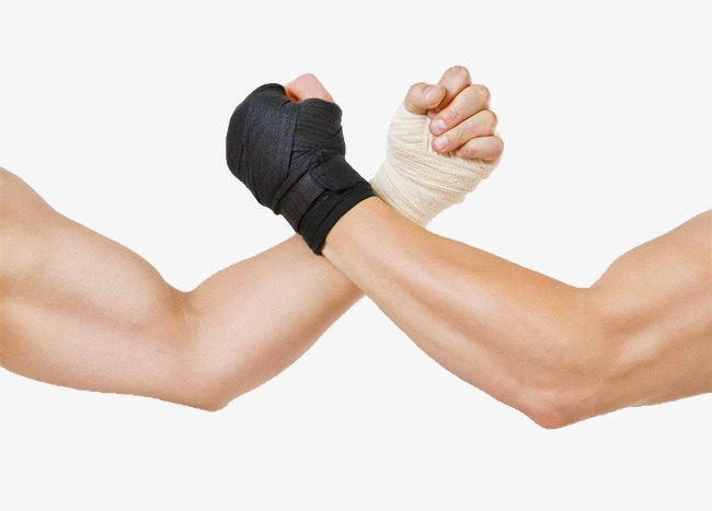 Arm wrestling pull hand. Arms clipart wrist