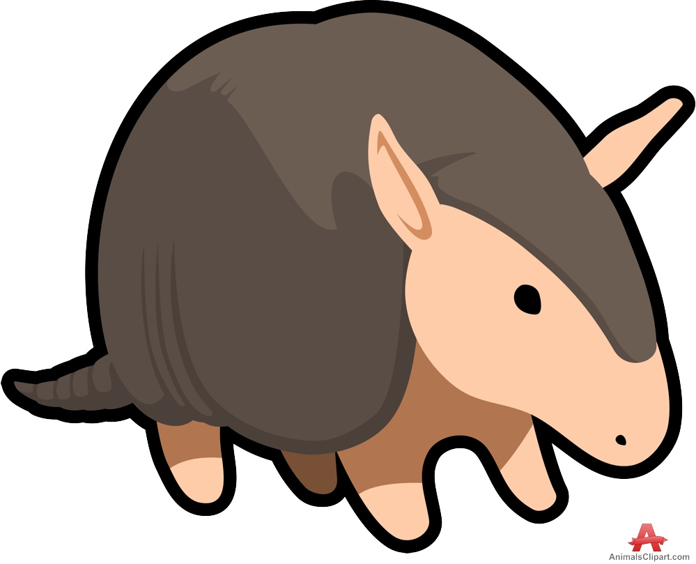 Armadillo clipart. Of armadillos free design