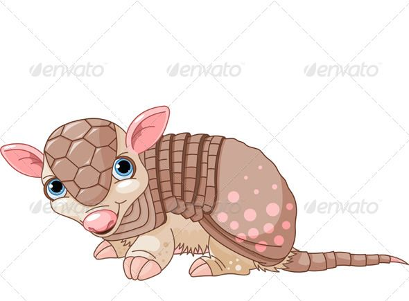 best a is. Armadillo clipart angry