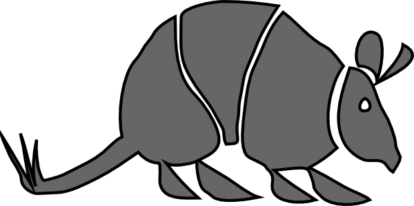 Armadillo Clip Art at Clker