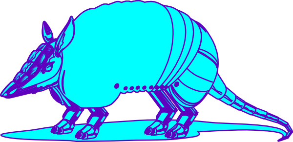 Armadillo clipart baby. Clip art at clker