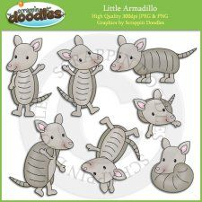 Clip art for the. Armadillo clipart colorful