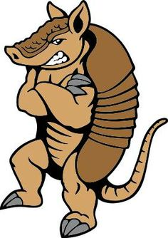 Armadillo clipart cowboy. One of the few