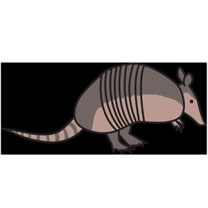 Animals wildlife esl library. Armadillo clipart transparent