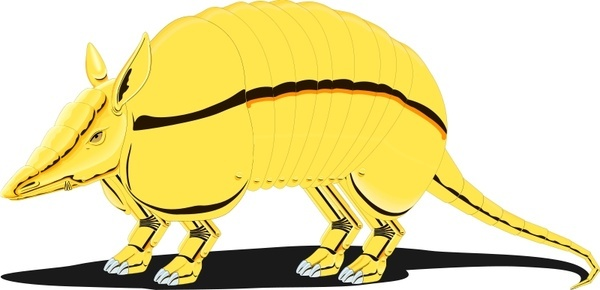 Armadillo clipart vector. Free download for commercial