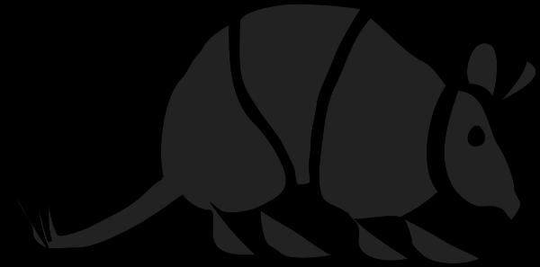Armadillo clipart vector. Free download clip art