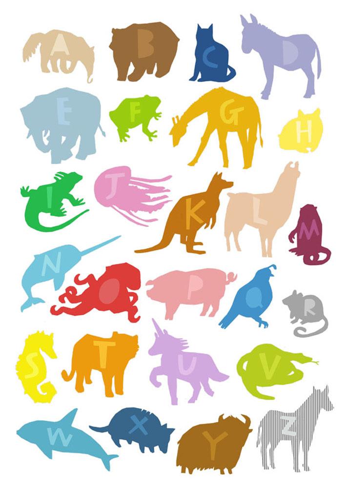 Animal alphabet unicorn for. Armadillo clipart xenarthra
