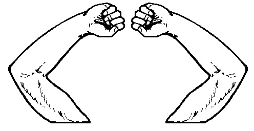 Arms clipart black and white.  collection of high