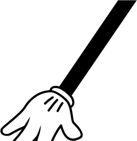 Fingers childs mickey mouse. Arms clipart child's