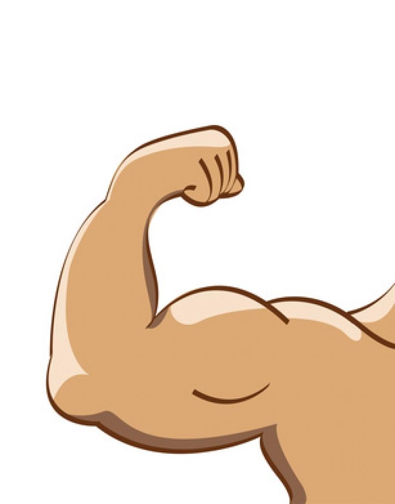 Arms clipart clip art. Strong arm body