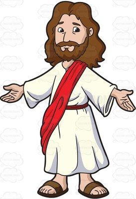 Jesus christ opening his. Arms clipart cute
