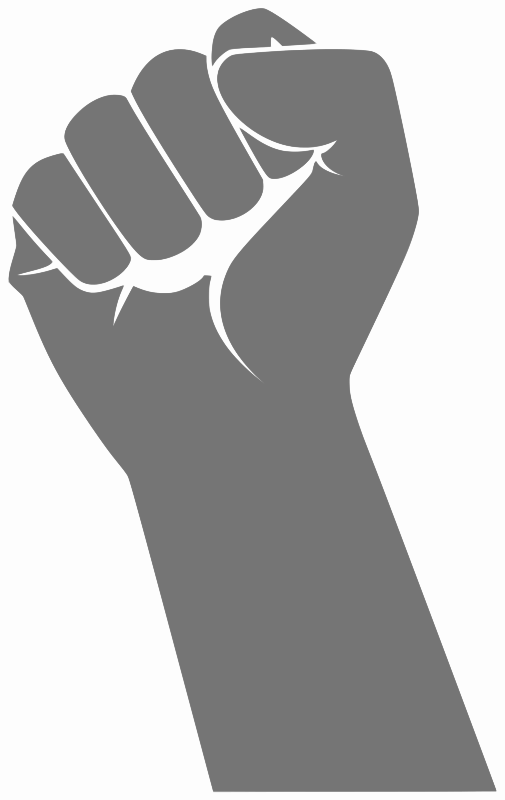 By loogieart signs symbol. Arms clipart fist