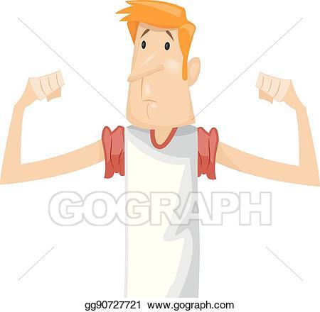 Clip art vector man. Arms clipart fitness