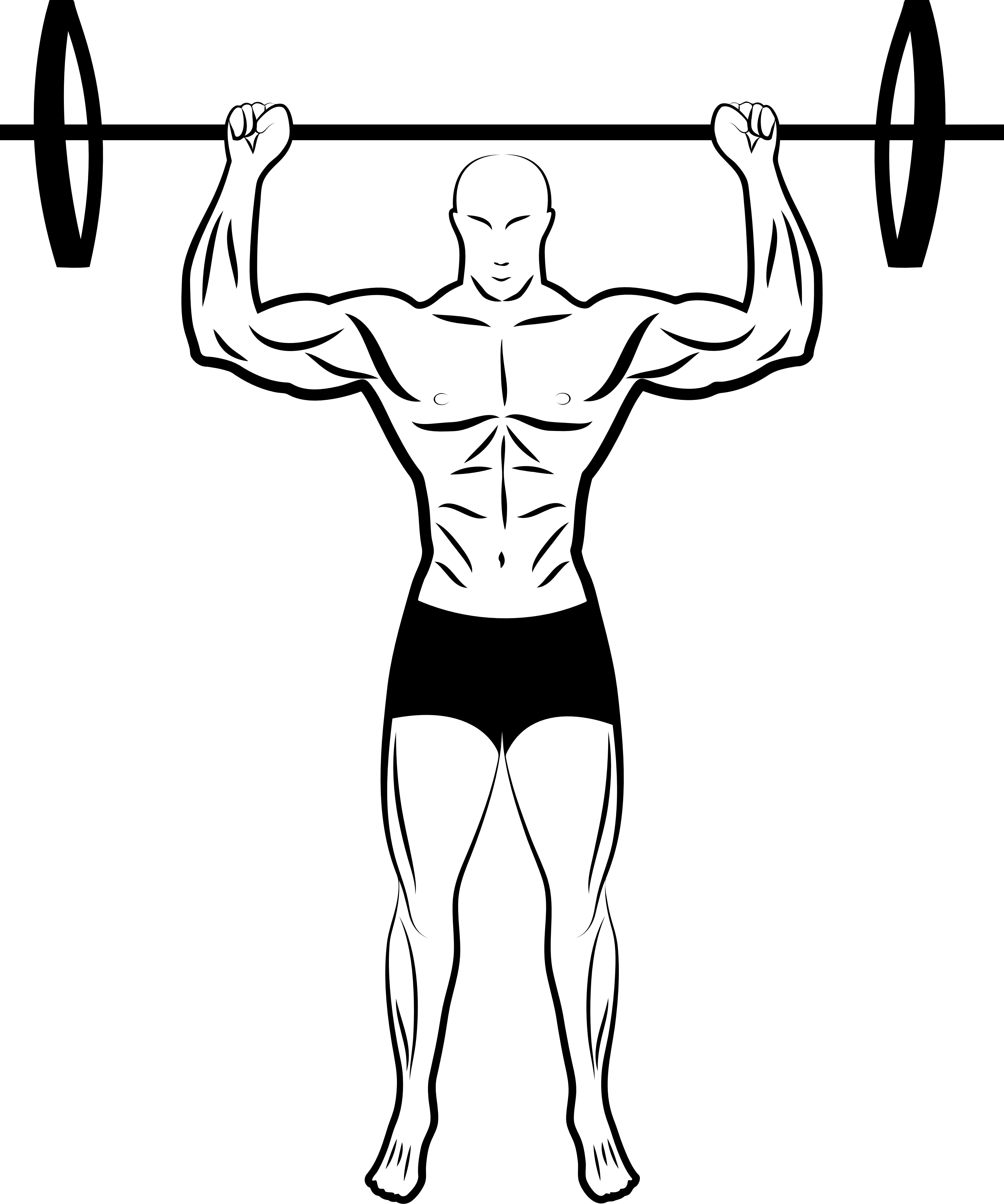 Arms clipart fitness. Physical drawing at getdrawings