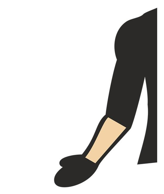 Arms clipart forearm. Norma compression arm sleeves