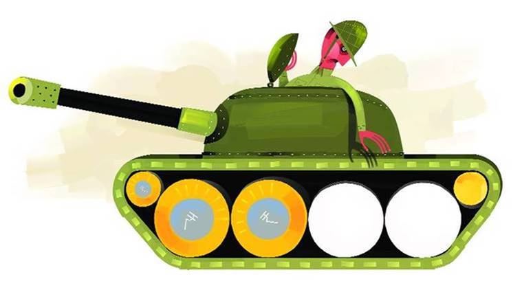 Allocation a battle for. Army clipart army defence