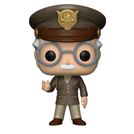 Army clipart army general. Funko pop marvel stan