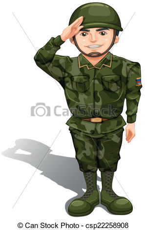 Army clipart army general. Soilder military pencil and