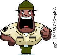 Vector illustration cartoon military. Army clipart army general