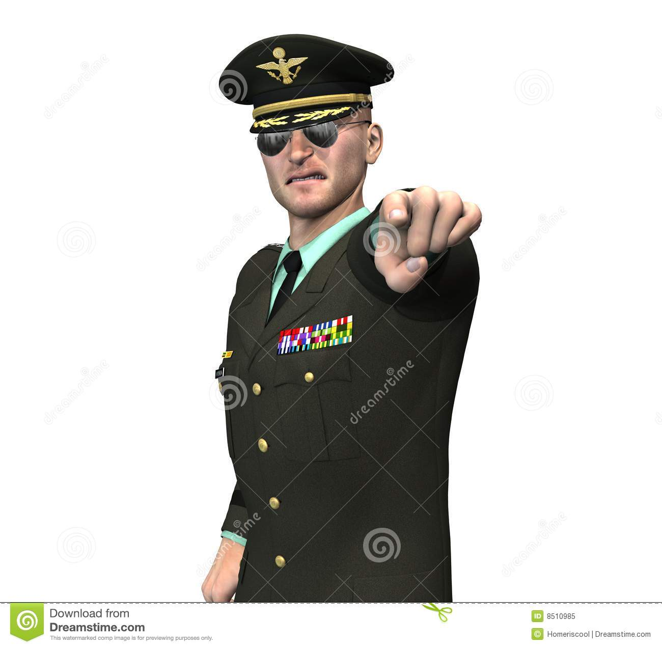 collection of officer. Army clipart army general