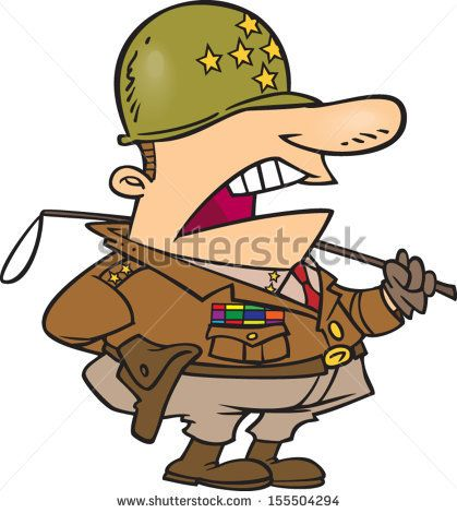 Amazing cartoon german soldier. Army clipart army general