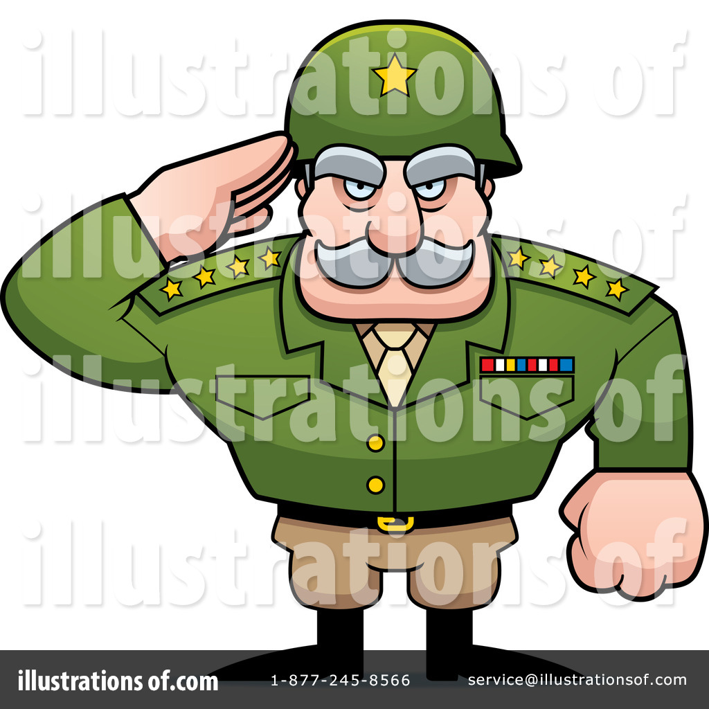 Illustration by cory thoman. Army clipart army general