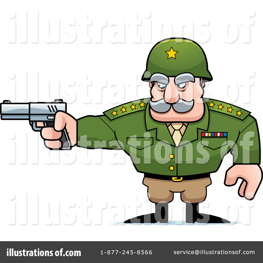 Army clipart army general. Illustration by cory thoman