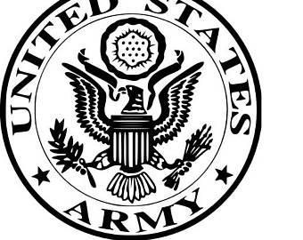Art etsy us svg. Army clipart army logo