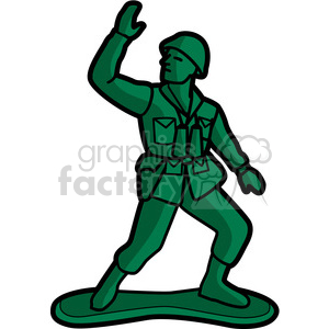 Army clipart army man. Toy soldier illustration graphic