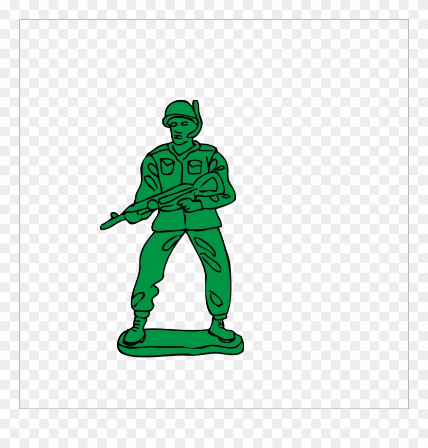 Army clipart army man. Toy soldier clip art