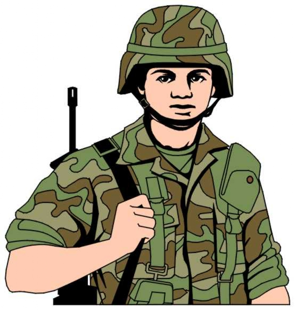 Soldier clip . Army clipart army man