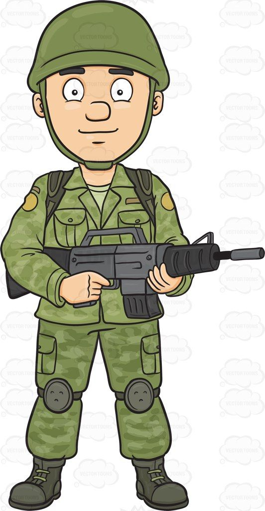 collection of officer. Army clipart army person