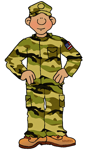 White military cliparts zone. Army clipart army person