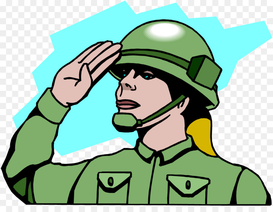 Army clipart army person. Salute soldier military clip