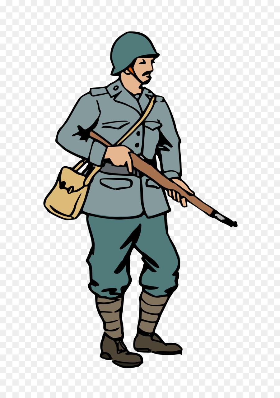 Army clipart army person. Cartoon soldier uniform transparent