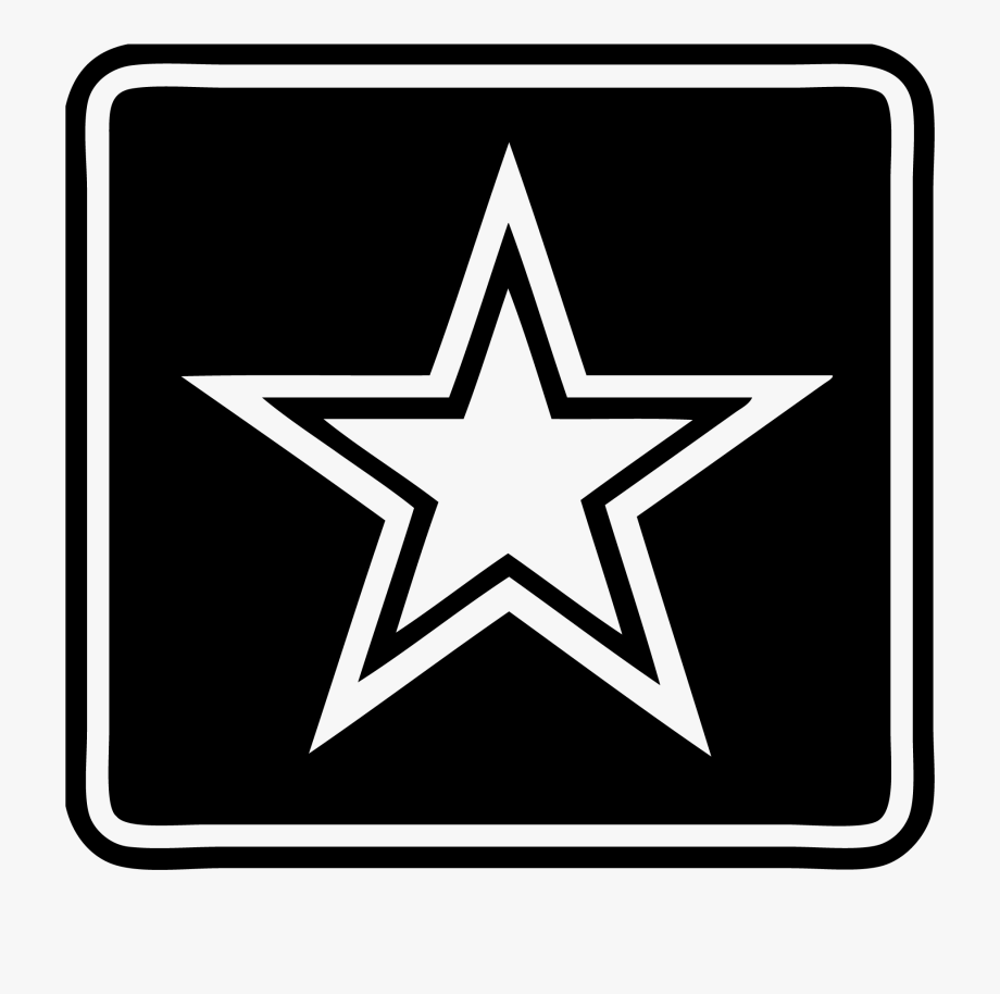 Military transparent background us. Army clipart army star