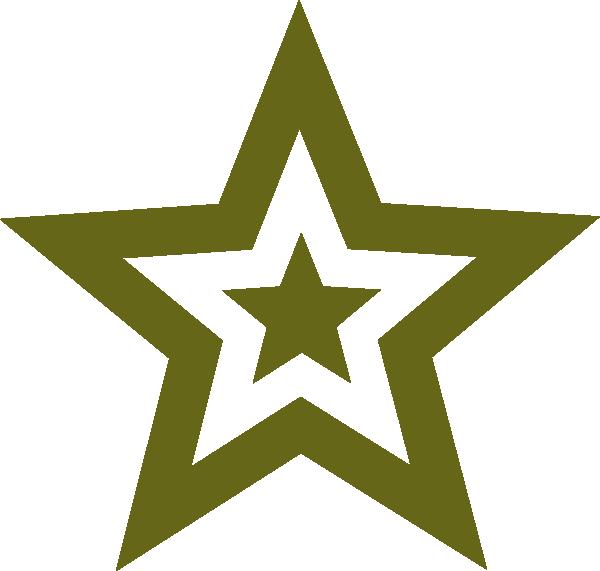 Military green clip art. Army clipart army star