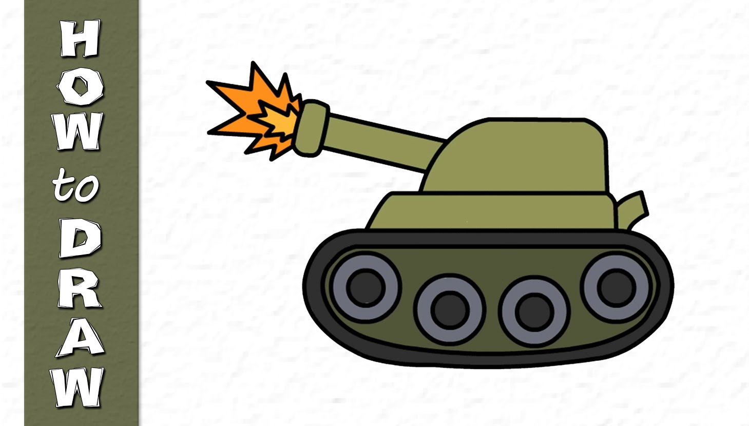 Army clipart army tank. Kids drawings military youtube