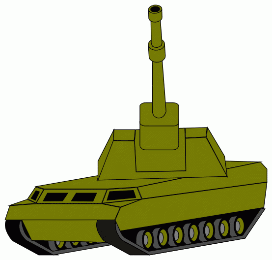 Army clipart army tank. Silhouette at getdrawings com