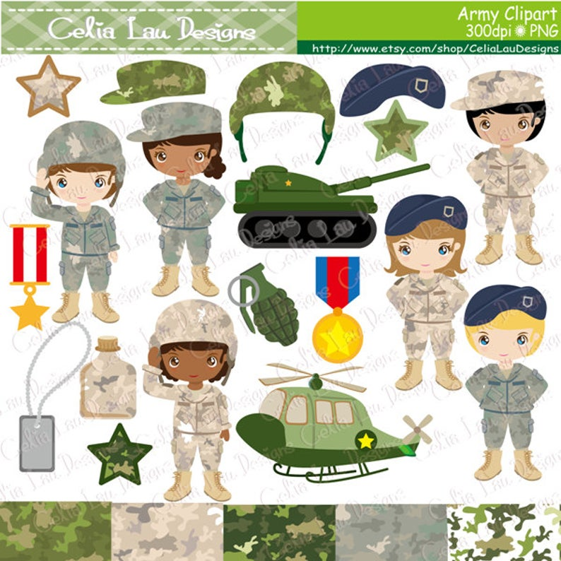 Clip art party kids. Army clipart army uniform