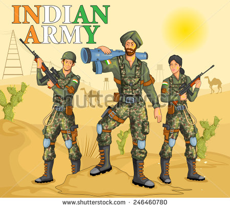 Army clipart army uniform. Indian station