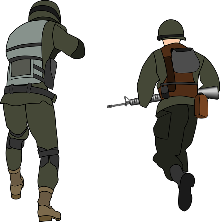 Soldiers clipart sad. Animated army pictures shop