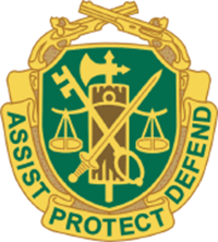 Army clipart badges. Military police corps united