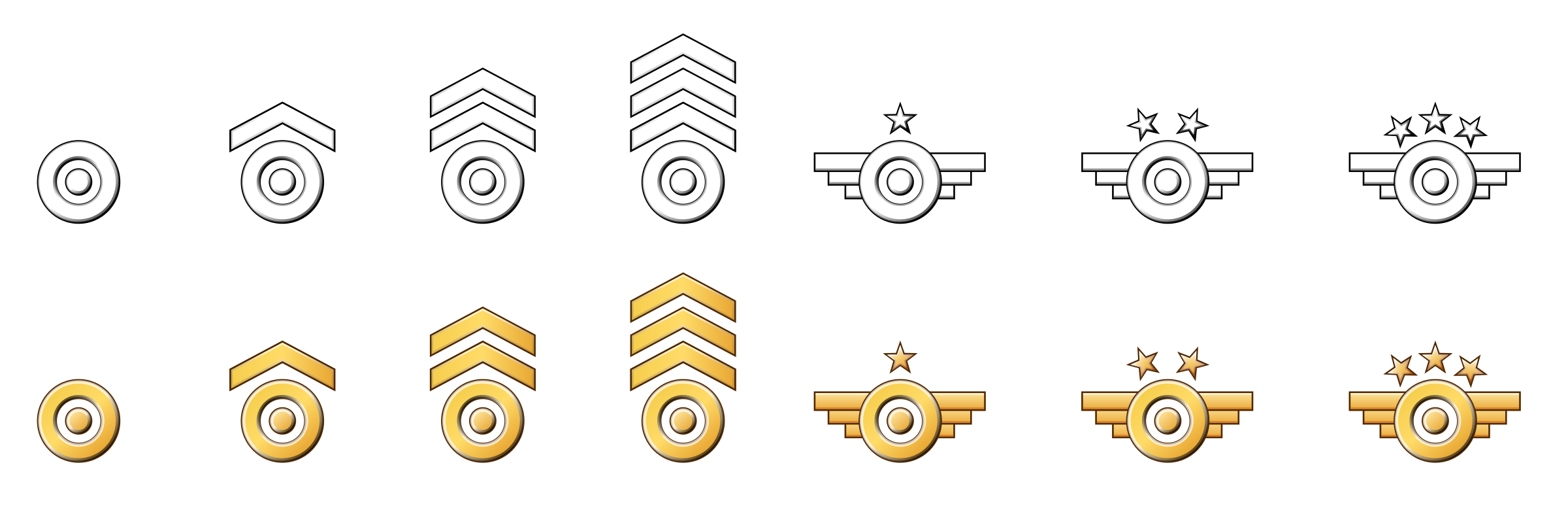 Military. Army clipart badges