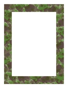 This camouflage in shades. Army clipart border