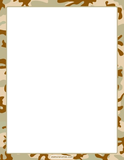 Army clipart border.  best bordes leaves
